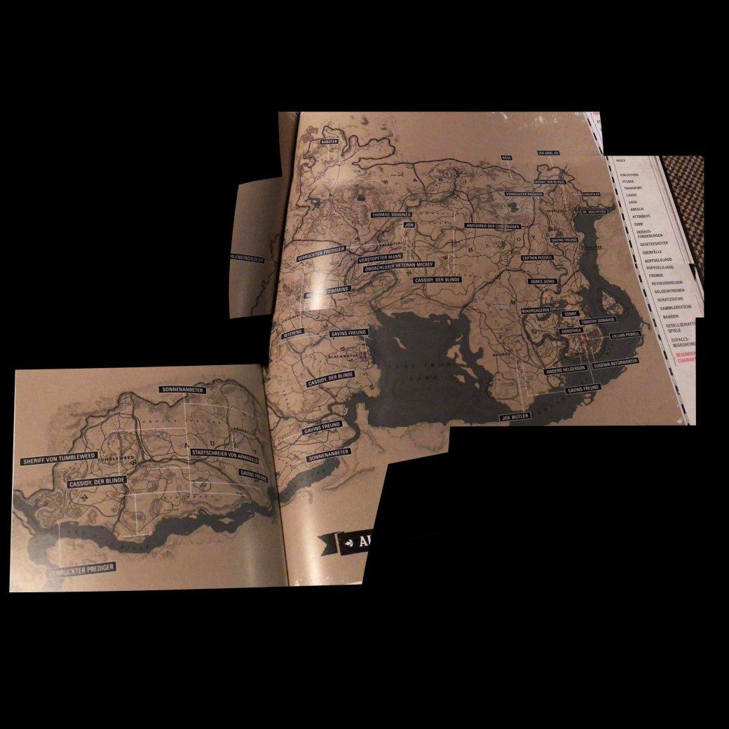В Сеть утекла карта мира Red Dead Redemption 2. В игре будут все основные локации из первой части | Канобу - Изображение 3