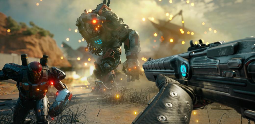 Gamescom 2018. RAGE 2 — яростный шутер, по динамике близкий к DOOM | Канобу - Изображение 1