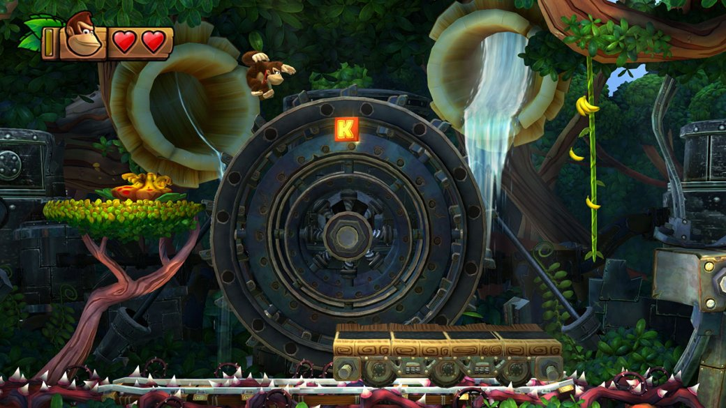 Donkey Kong Country: Tropical Freeze наSwitch —несовершенный, ноочень качественный платформер | Канобу - Изображение 3