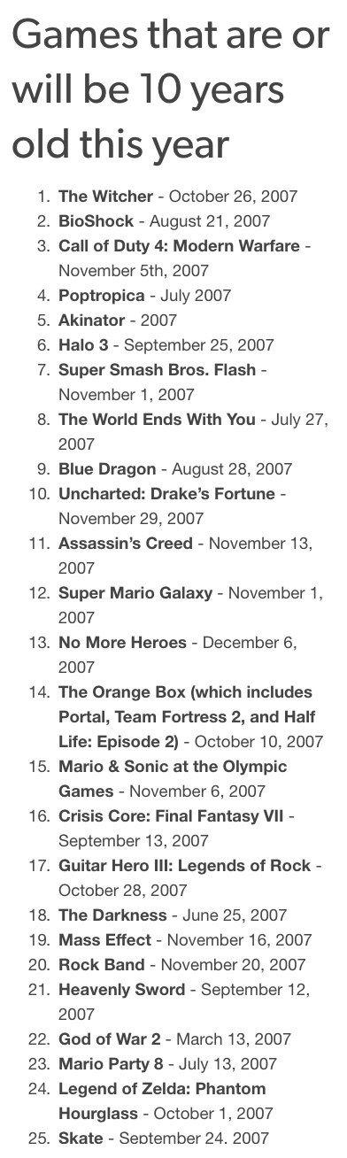 Почувствуй себя старым: список игр, которым исполняется 10 лет   Канобу - Изображение 3181