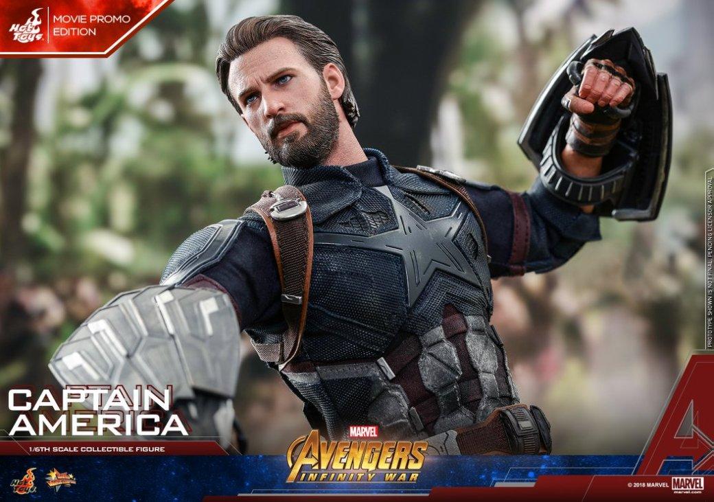Взгляните нановую фигурку Капитана Америка из«Войны Бесконечности» отHot Toys. - Изображение 14