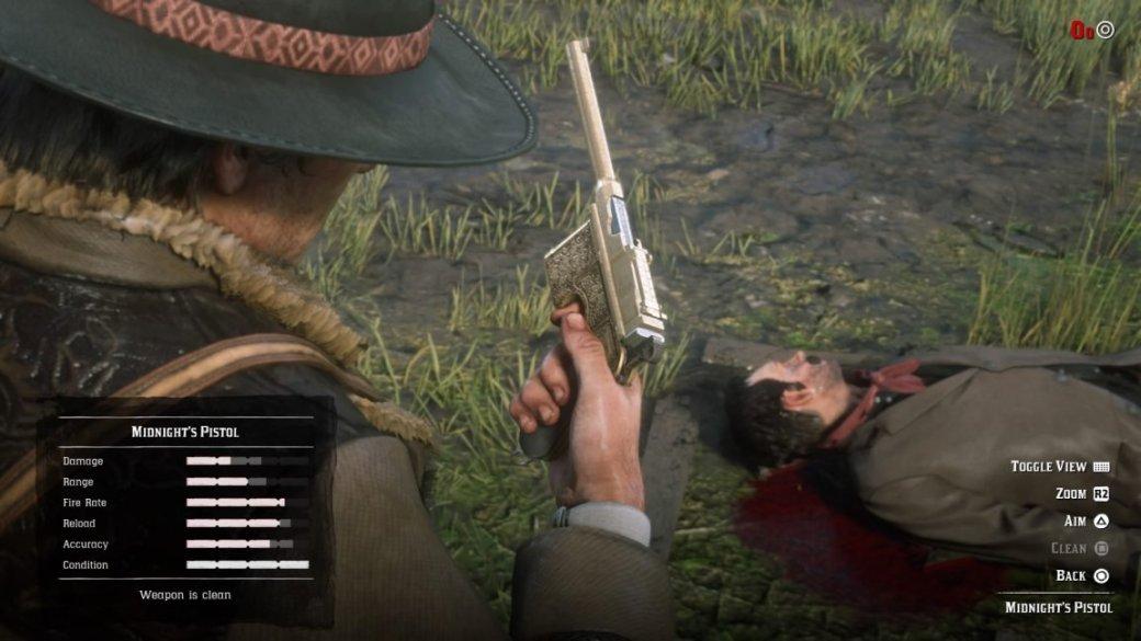 Гайд. Лучшее и уникальное оружие в Red Dead Redemption 2 — и где его найти | Канобу - Изображение 274