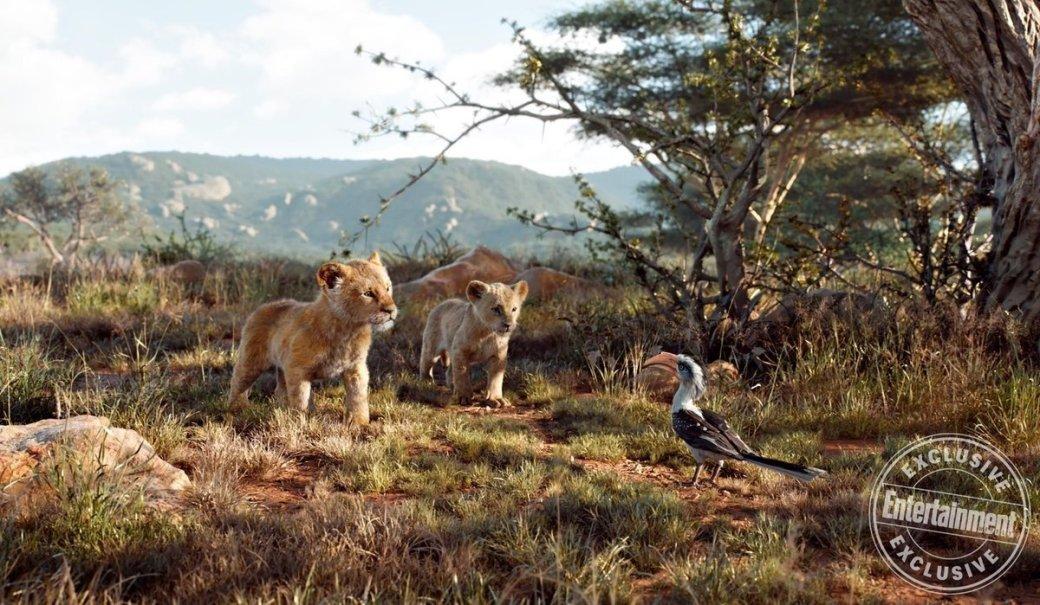 Очень графонистые животные нановых кадрах фильма «Король Лев»   Канобу - Изображение 175