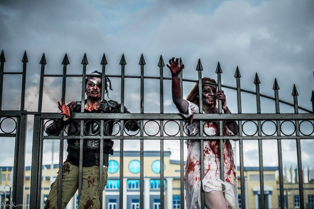 В Йошкар-Оле прошел первый зомби-парад | Канобу - Изображение 1