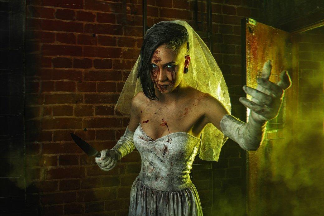 Косплей дня: жуткая невеста из игры Outlast: Whistleblower. - Изображение 1