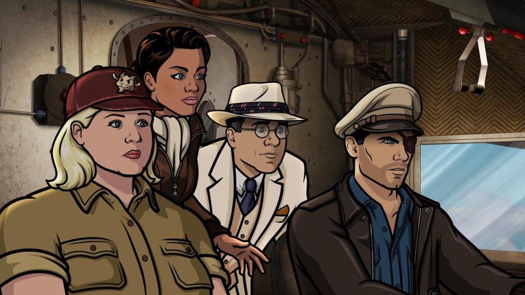 Первые впечатления от9 сезона мультсериала «Спецагент Арчер». - Изображение 1