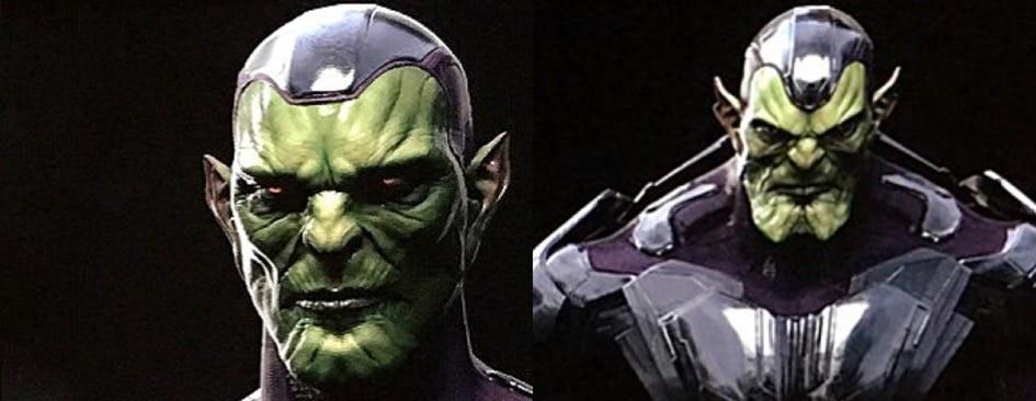 Концепт-арты «Капитан Марвел» намекают, что важный персонаж киновселенной может оказаться скруллом | Канобу - Изображение 1