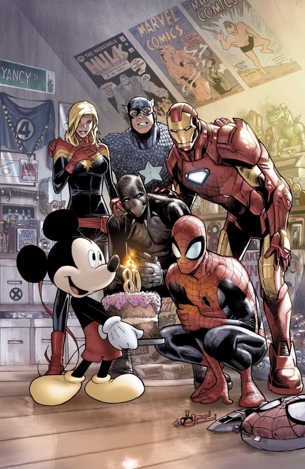 Микки Маус поздравляет героев Marvel с днем рождения | Канобу - Изображение 2