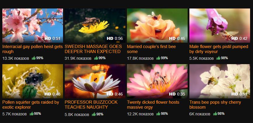 На PornHub появился раздел с порно с пчелами, озвученным известными актерами. Нет, это не шутка | Канобу - Изображение 2