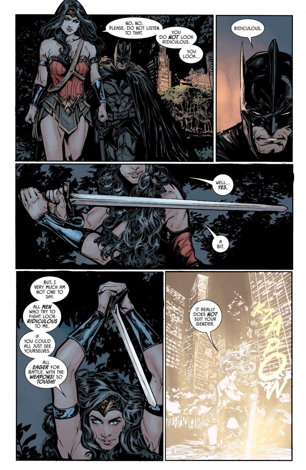 Вновом номере «Бэтмена» Темный рыцарь надел настоящие доспехи, чтобы сразиться сдемонами. - Изображение 2