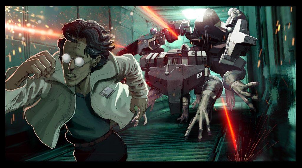 Замечательные фанарты к31-летию Metal Gear отрежиссера ееэкранизации | Канобу - Изображение 20