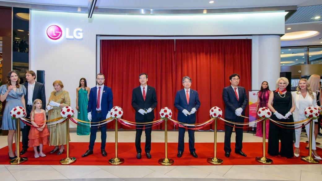 ВМоскве открылся первый премиальный магазин бытовой техники иэлектроники LG. - Изображение 1