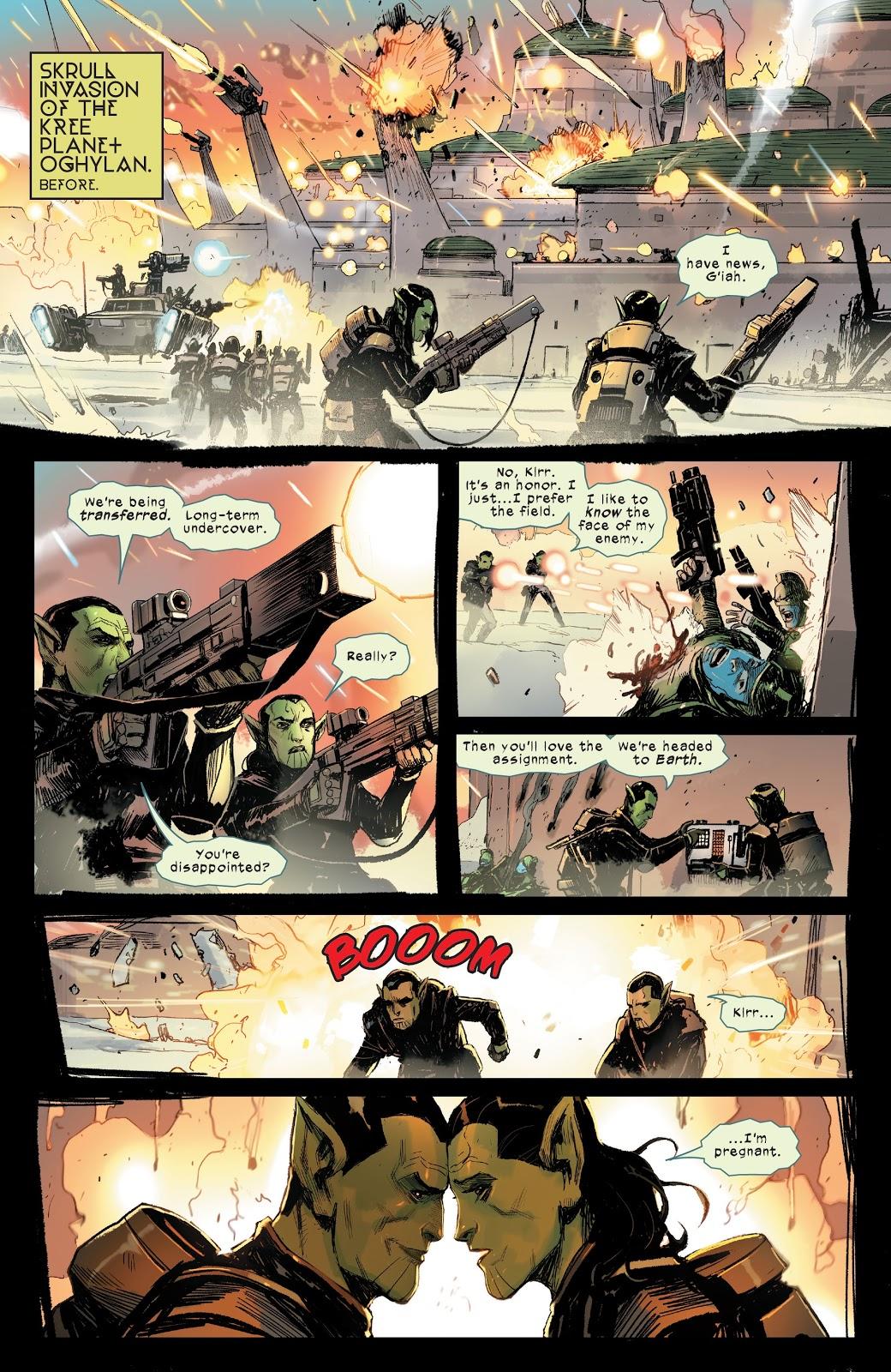 Зачем читать Meet the Skrulls? История осемье пришельцев-шпионов, скрывающихся наЗемле | Канобу - Изображение 3