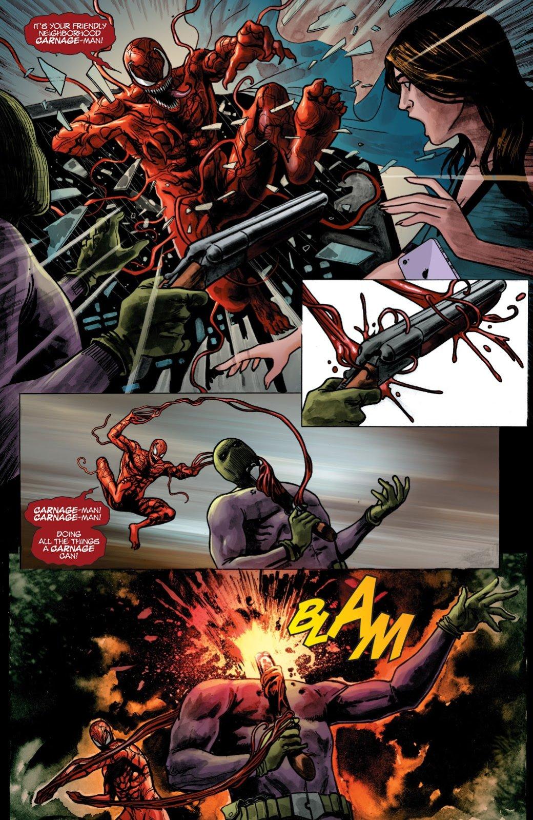 История Карнажа— самого безумного врага Человека-паука | Канобу - Изображение 7