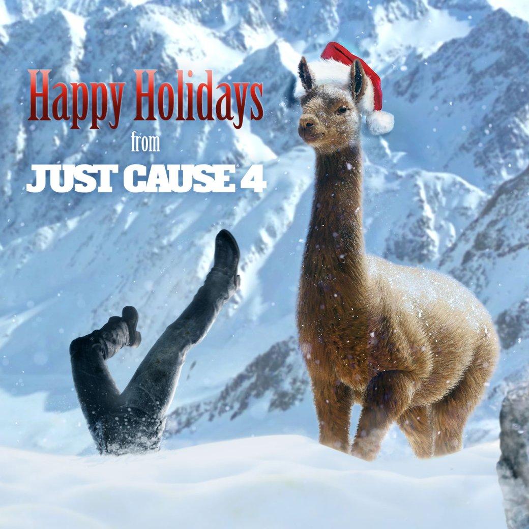 Разработчики поздравляют игроков с Рождеством. Подборка праздничных открыток   Канобу - Изображение 12497