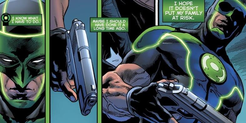 Зеленому фонарю больше не нужен пистолет, и все благодаря Бэтмену | Канобу - Изображение 11534