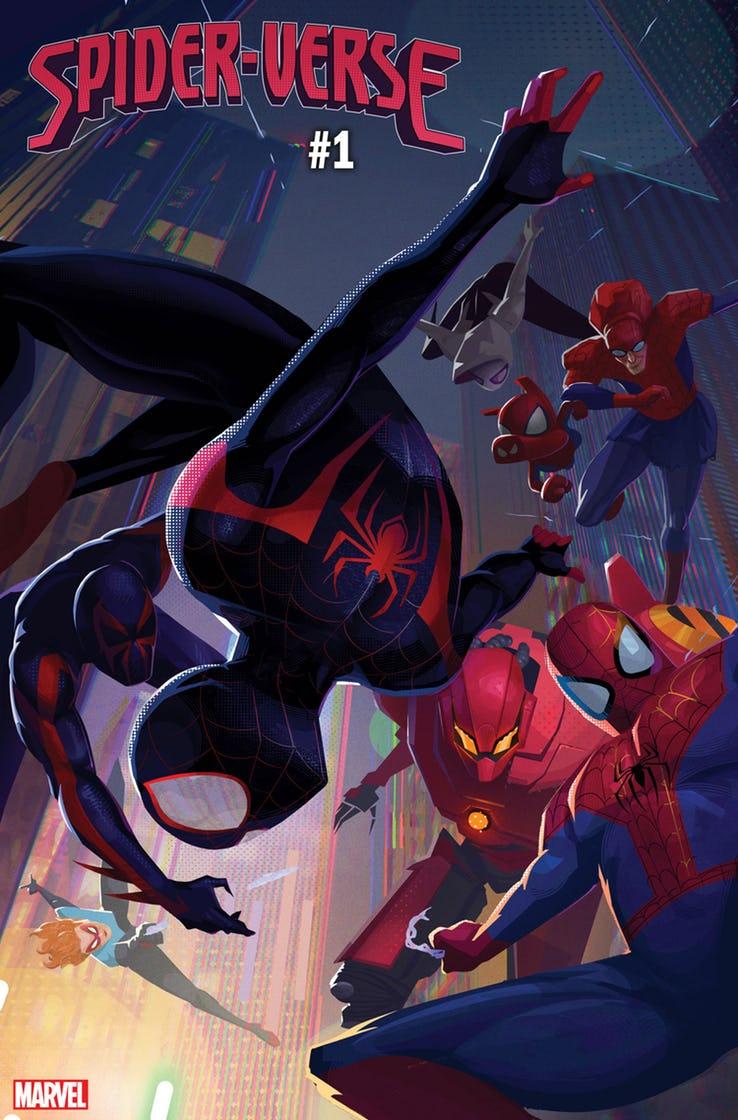 Spider-Verse возвращается! Наэтот раз вцентре сюжета оЛюдях-пауках изразных миров Майлз Моралес | Канобу - Изображение 1497