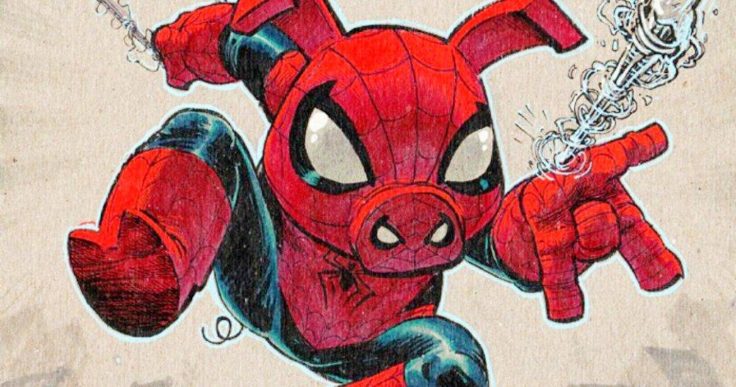 Фигурки Funko раскрыли Свина-паука идругих новых героев «Человека-паука: Через вселенные» | Канобу - Изображение 5370