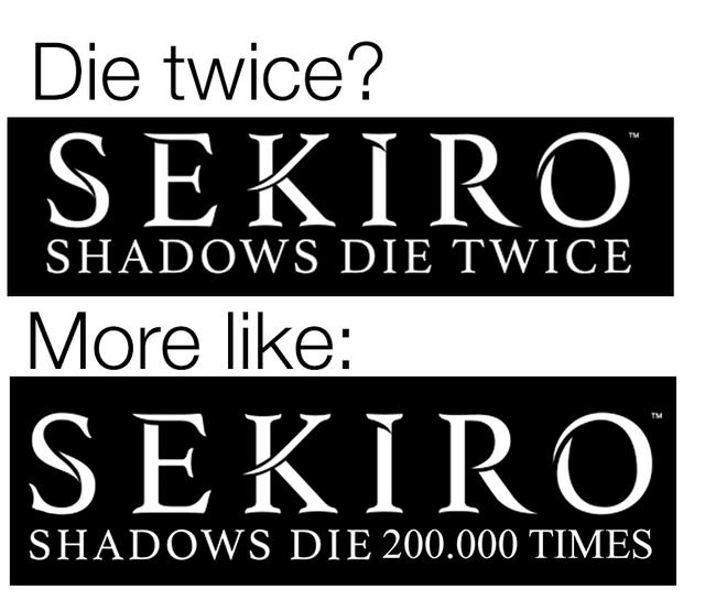 Интернет вовсю обсуждает Sekiro: Shadows Die Twice. Мысобрали лучшие шутки и смешные моменты | Канобу - Изображение 11949