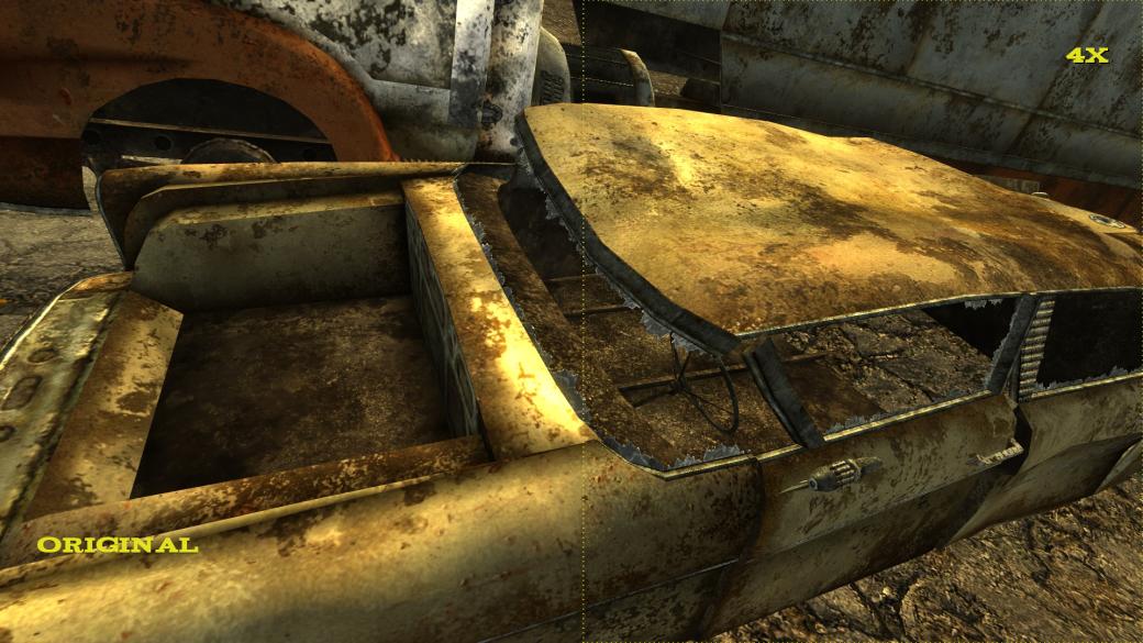 Фанат Fallout: New Vegas улучшил в несколько раз качество текстур в игре с помощью нейросетей | Канобу - Изображение 14373