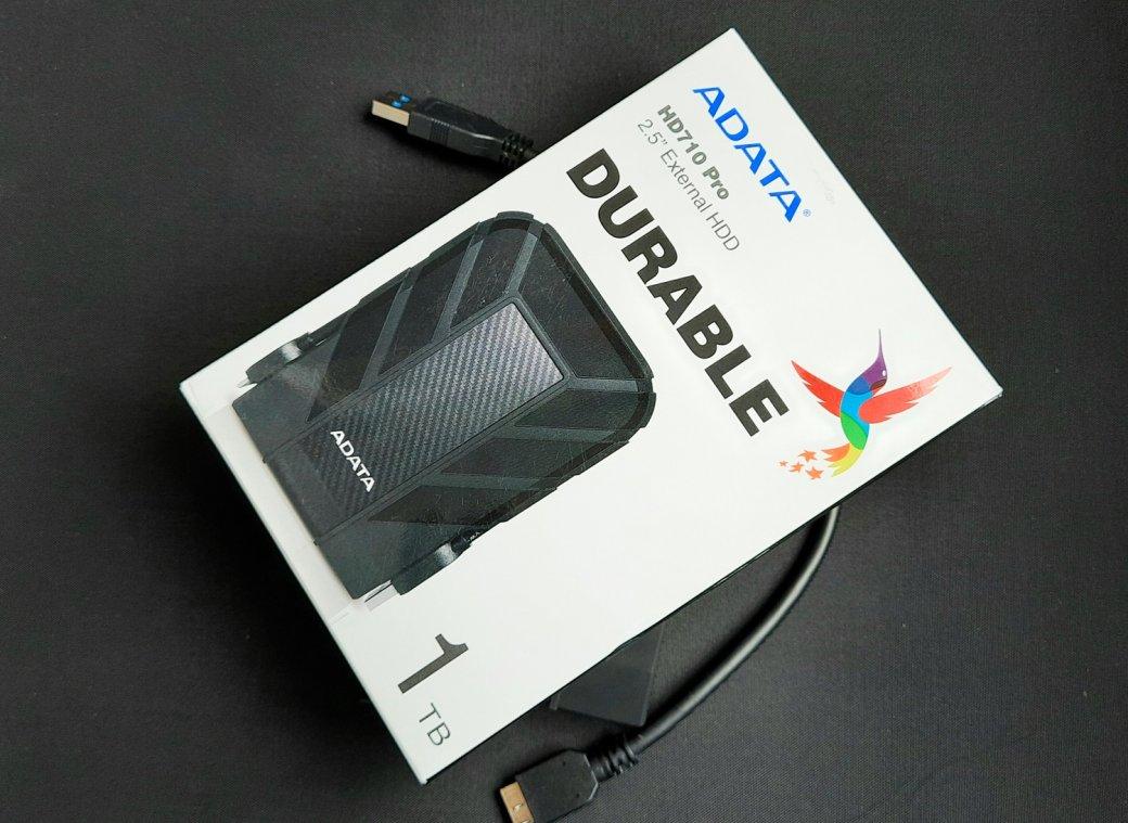 Обзор Adata HD710Pro. Внешний жесткий диск сзащитой отпыли ивлаги