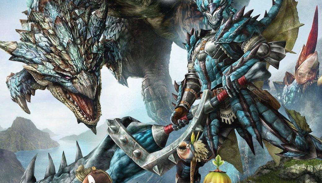 Танк обстреливает огромного краба в трейлере Monster Hunter 4G  | Канобу - Изображение 1482