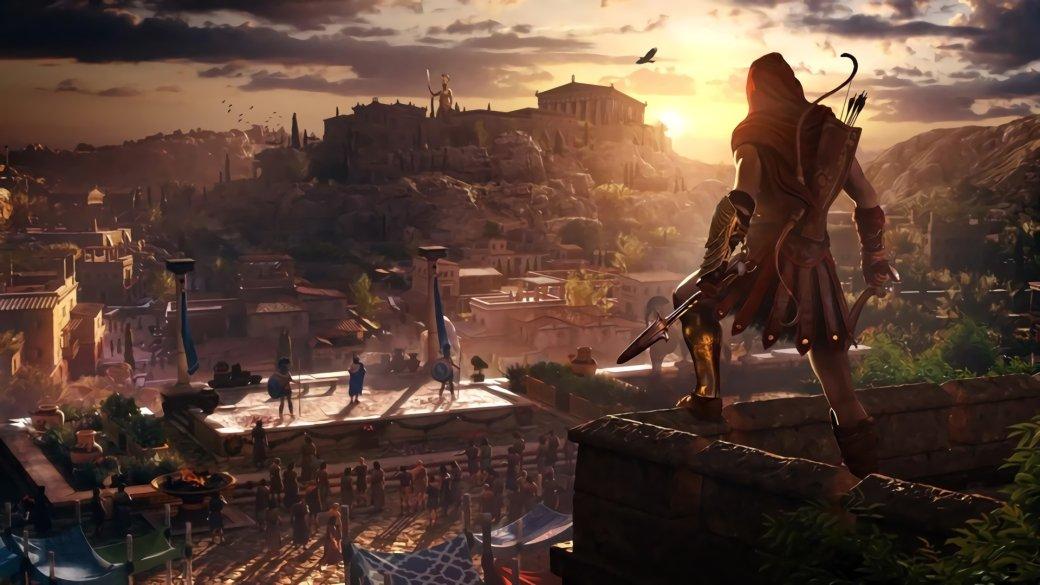 Гифка дня: кривой прыжок веры вAssassin's Creed Odyssey   Канобу - Изображение 1