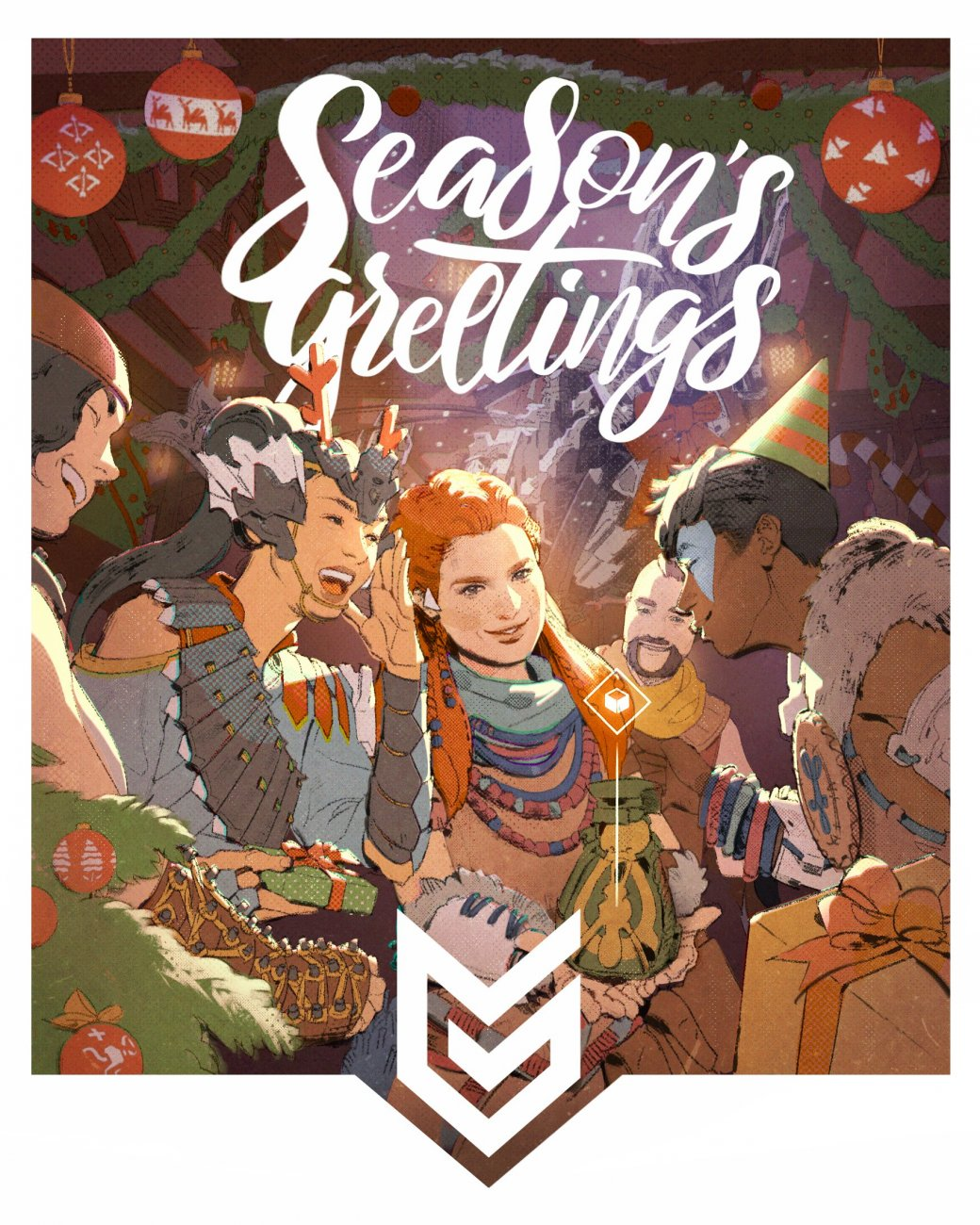 Издатели иразработчики поздравляют игроков сНовым годом иРождеством. Подборка открыток | Канобу - Изображение 6925
