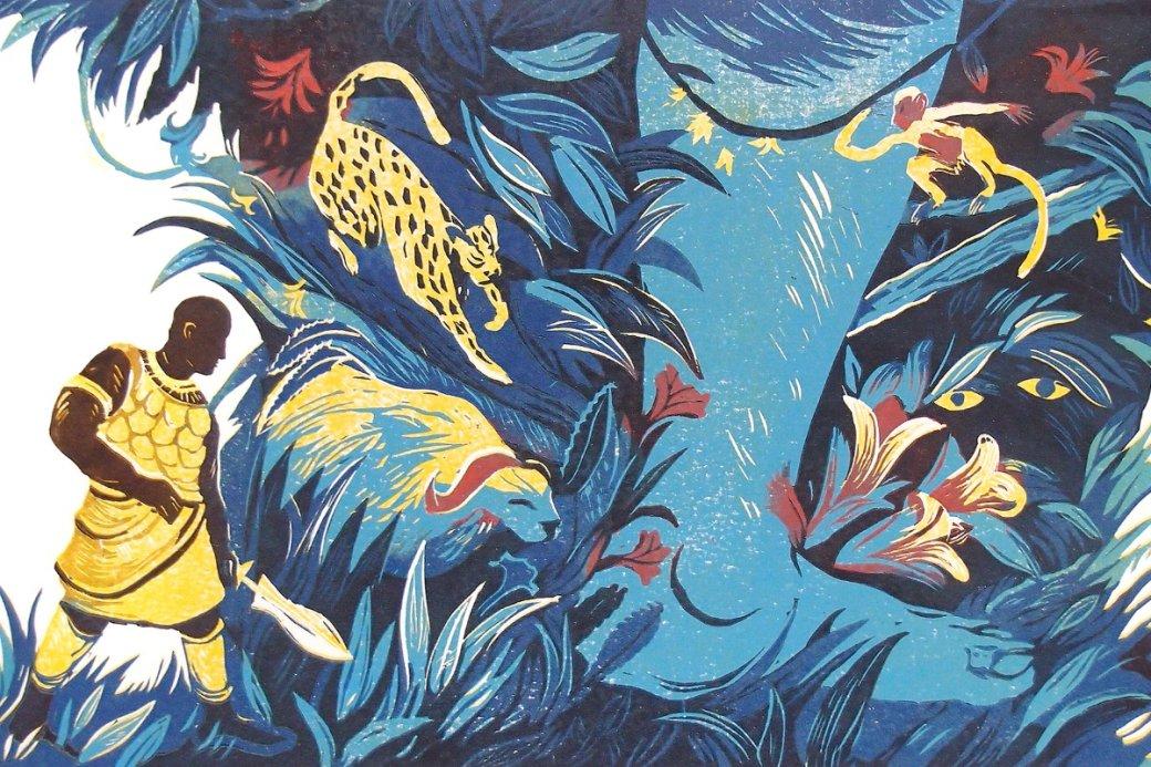 Рецензия на книгу «Черный леопард, рыжий волк»  | Канобу