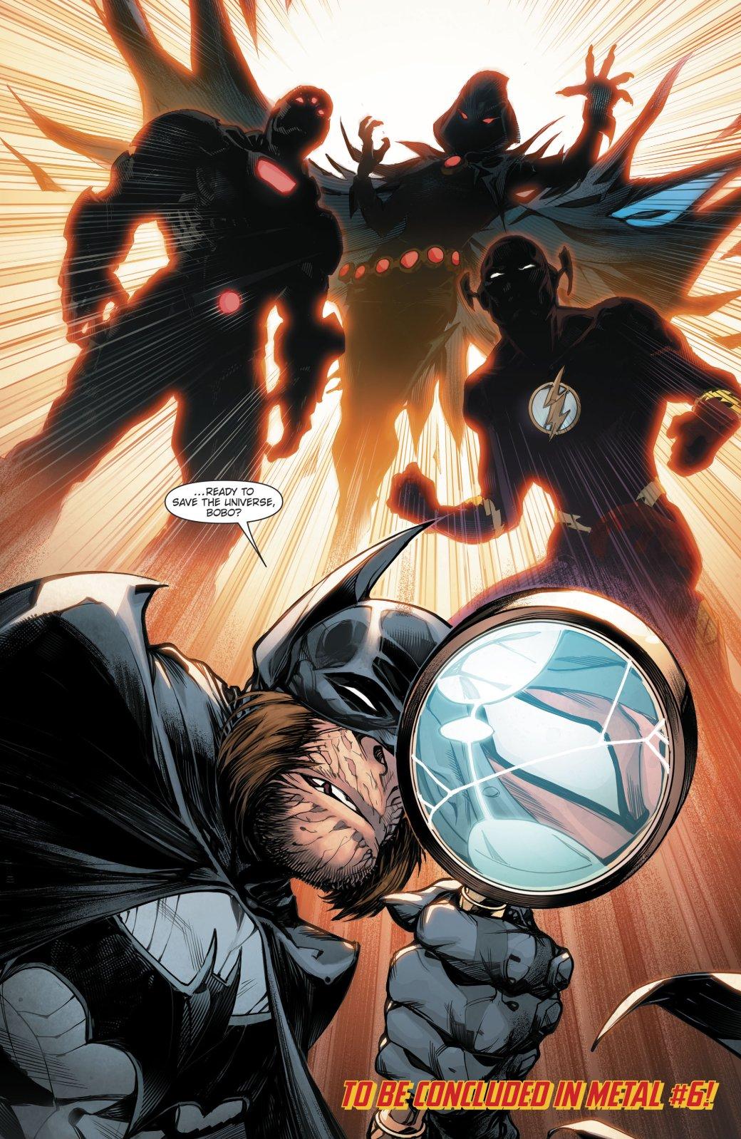 Вкомиксе Dark Nights: Metal представили 53 вселенную, иона населена разумными приматами!. - Изображение 2
