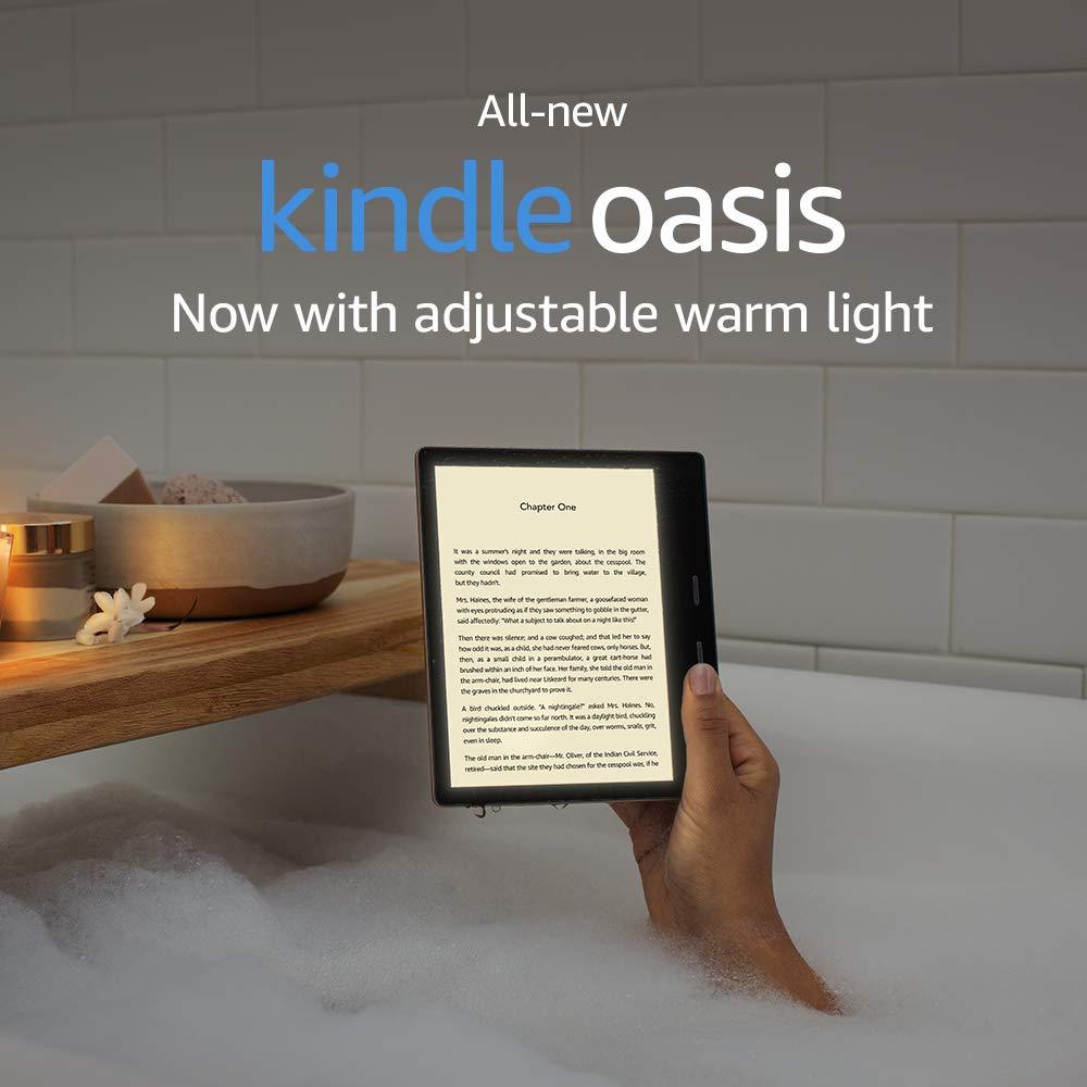 Amazon Kindle Oasis: обновленная электронная книга стала легче и быстрее предшественниц | Канобу - Изображение 0