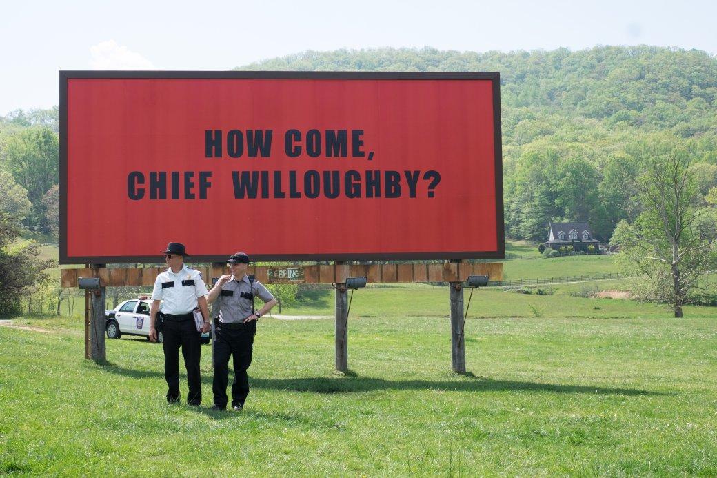 Рецензия на«Три билборда награнице Эббинга, Миссури» – обзор Трофимова    Канобу