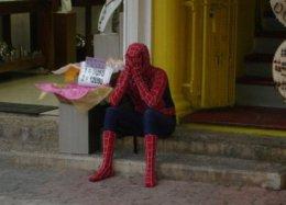 Гифка дня: супергеройские будни все-таки сломили Человека-паука вSpider-Man для PS4