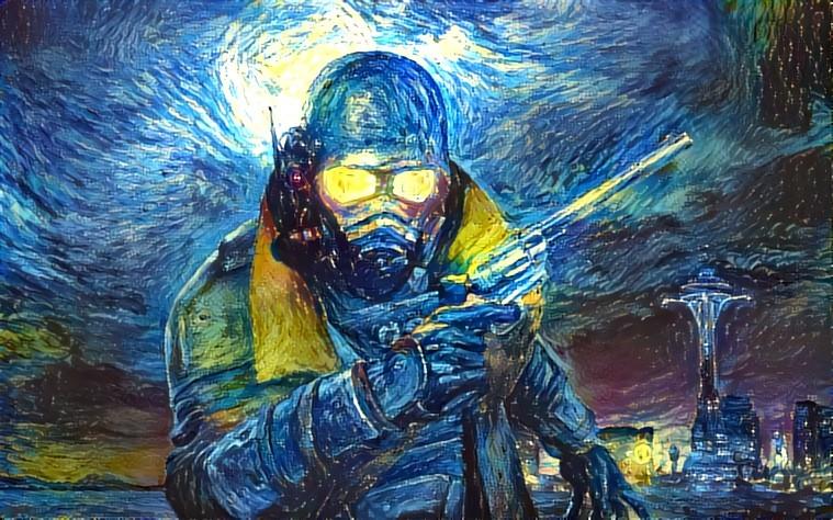 Стример обработал все текстуры в Fallout: New Vegas нейросетью и превратил игру в ночной кошмар | Канобу - Изображение 1
