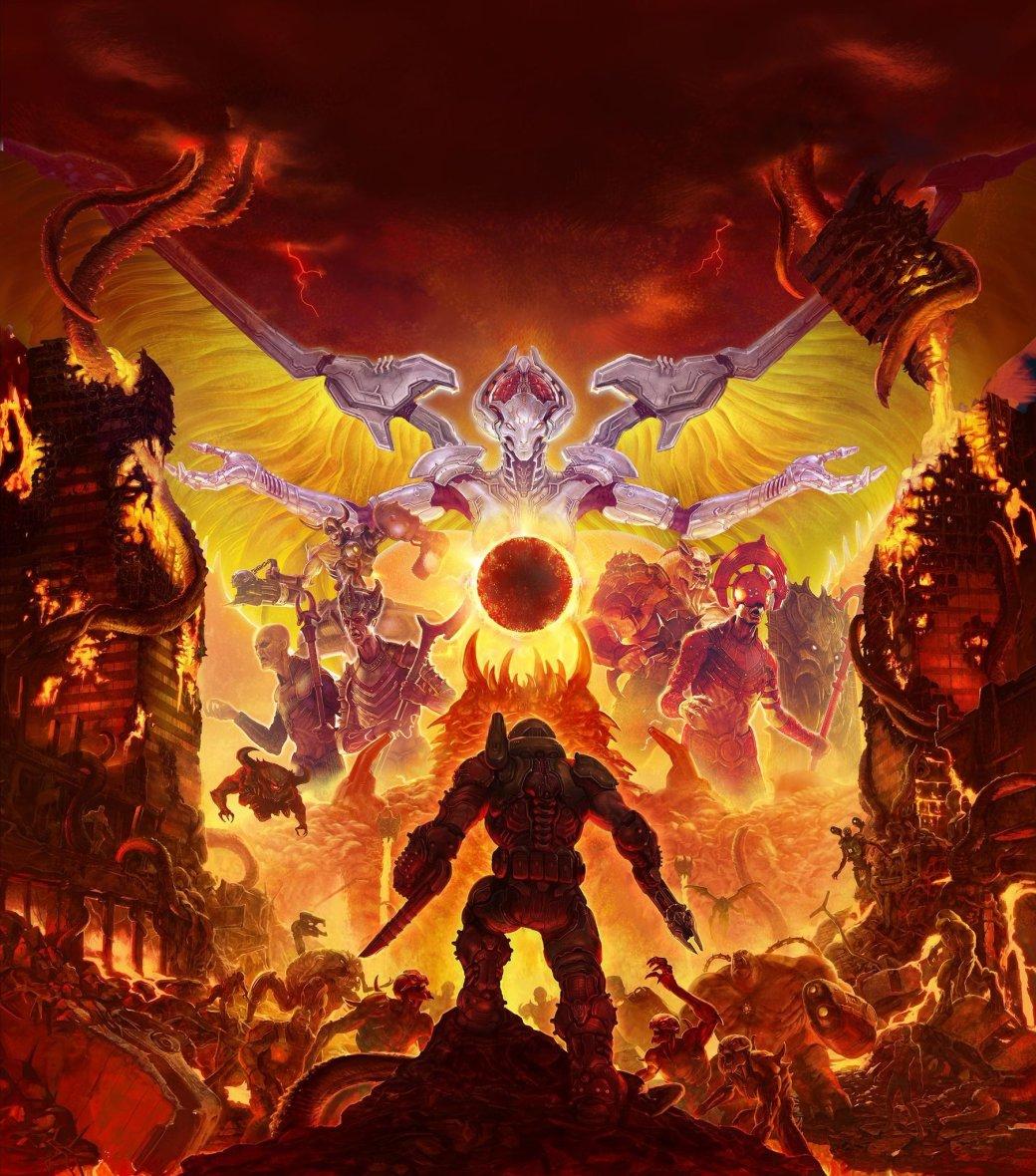 Создатели Doom Eternal показали несколько постеров и пачку скриншотов игры | Канобу - Изображение 3