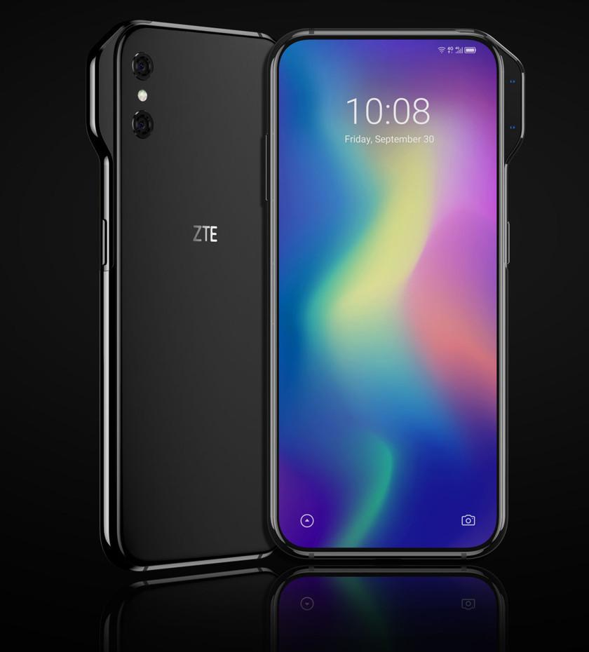 Смартфон ZTE Axon Vполучит самый странный внешний вырез для селфи-камеры | Канобу - Изображение 5193