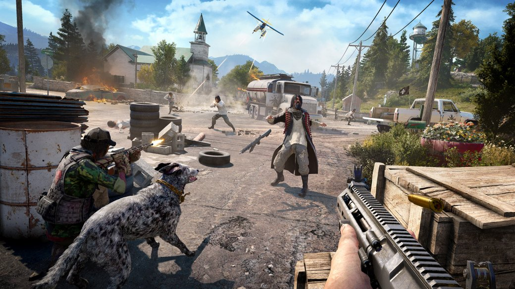 Собираем ПКдля Far Cry 5: 4K-разрешение и 60 кадров в секунду наультра-настройках | Канобу