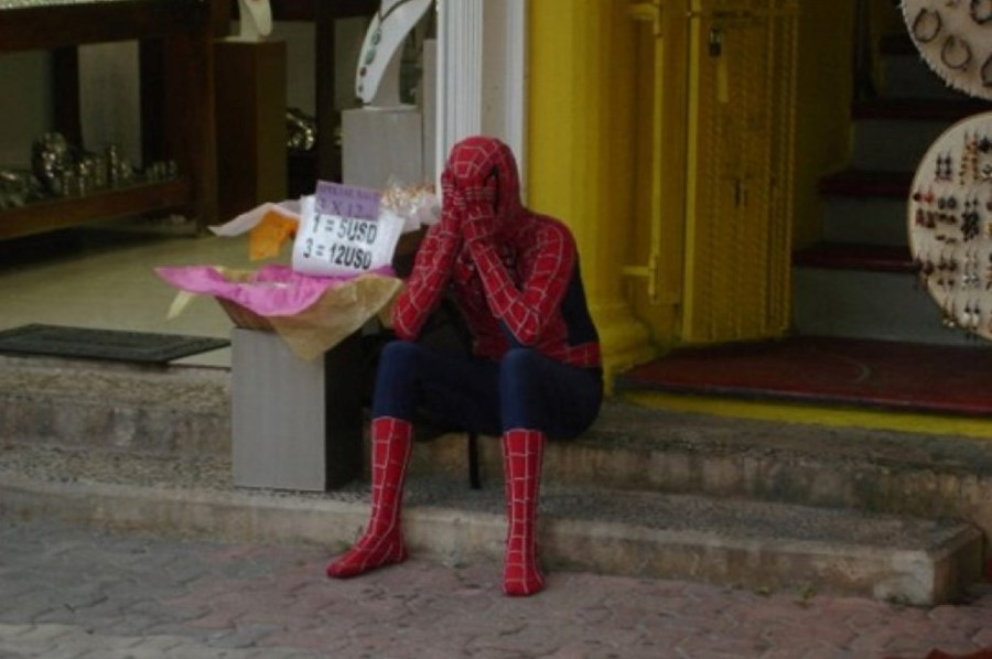 Гифка дня: супергеройские будни все-таки сломили Человека-паука вSpider-Man для PS4 | Канобу - Изображение 7122