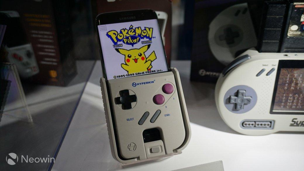 На E3 2016 показали чехол, который превращает смартфон в Game Boy | Канобу - Изображение 11007