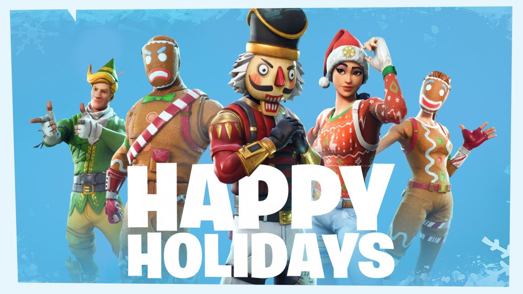 Разработчики поздравляют игроков с Рождеством. Подборка праздничных открыток   Канобу - Изображение 12495