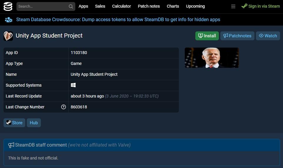 Игру по«Звездным войнам» нашли вбазе данных Steam. Кажется, это фейк | Канобу - Изображение 5806