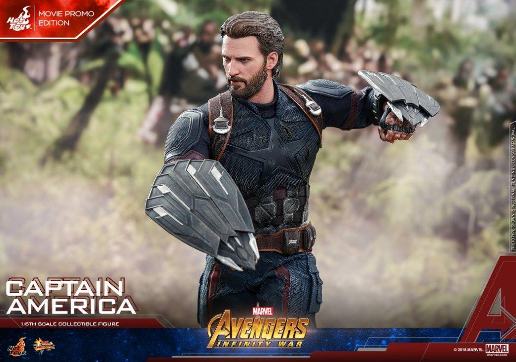 Взгляните нановую фигурку Капитана Америка из«Войны Бесконечности» отHot Toys. - Изображение 13