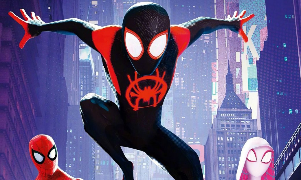 Художник «Ванпанчмена» нарисовал потрясающий постер для «Человека-паука: Через вселенные» | Канобу - Изображение 0