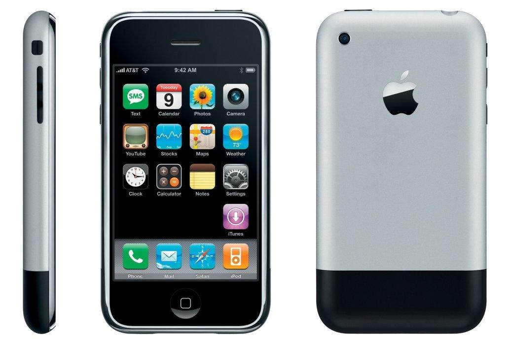 Вэтот день, но13 лет назад впродажу вышел первый iPhone | Канобу - Изображение 5516