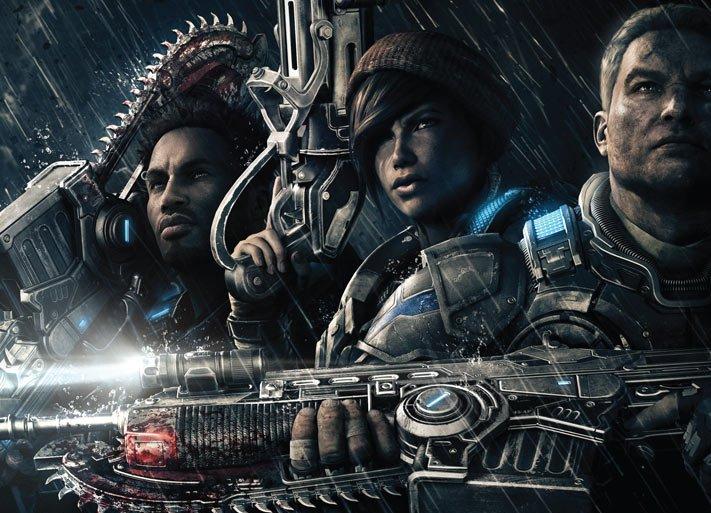 В Сеть утекли 13 минут геймплея беты Gears of War 4 | Канобу - Изображение 7758