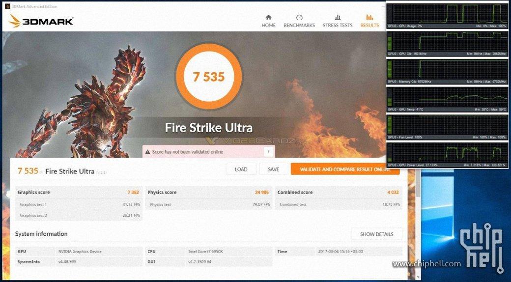 Разогнанный GeForce GTX 1080 Ti прошел первые тесты | Канобу - Изображение 103
