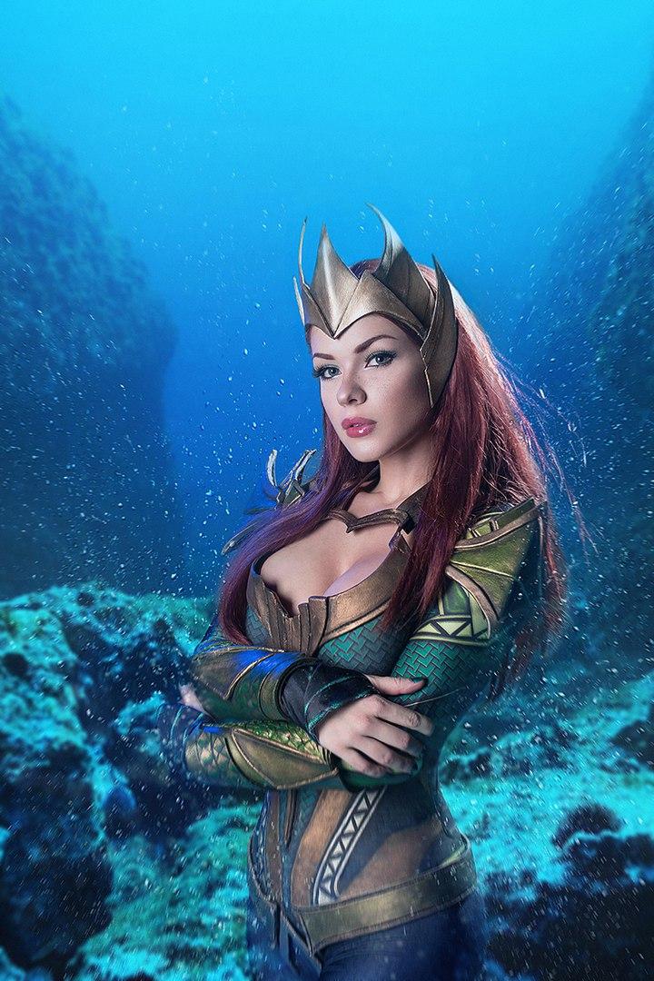 Косплей дня: королева Атлантиды ивозлюбленная Аквамена Мера | Канобу - Изображение 2