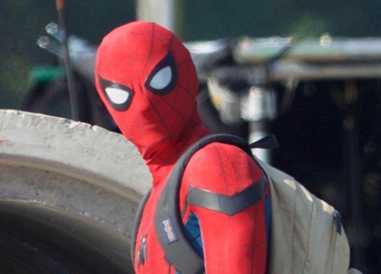 Новые фото «Человека-паука» показали Тома Холланда в полном костюме | Канобу - Изображение 8543
