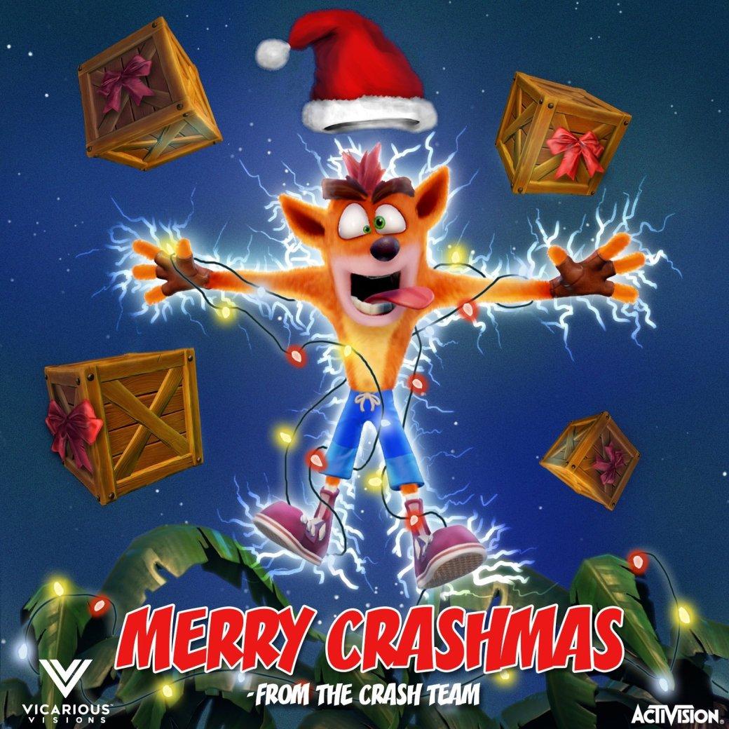 С праздниками! Разработчики поздравляют с Новым годом и Рождеством | Канобу - Изображение 10