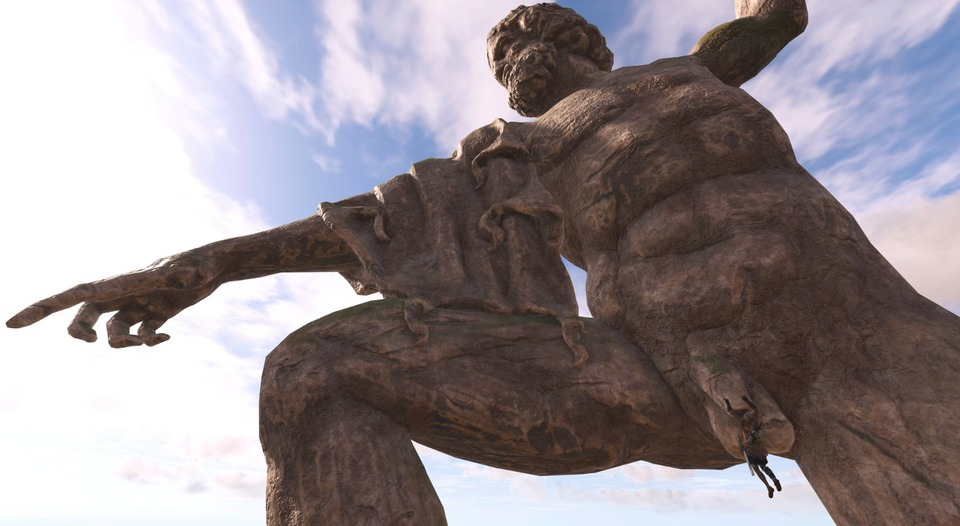 Журналист PCGamer составил топ пенисов изAssassin's Creed Odyssey— речь, конечно, остатуях | Канобу - Изображение 1